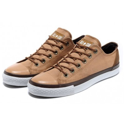 converse all star basse beige