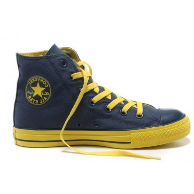 converse all star blu alte uomo