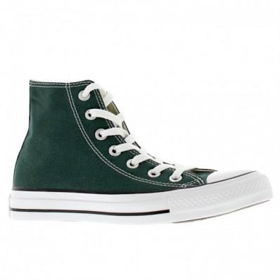 converse all star canvas verde