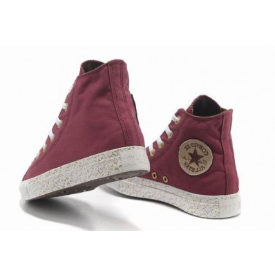converse all star chuck taylor alte rosse donna