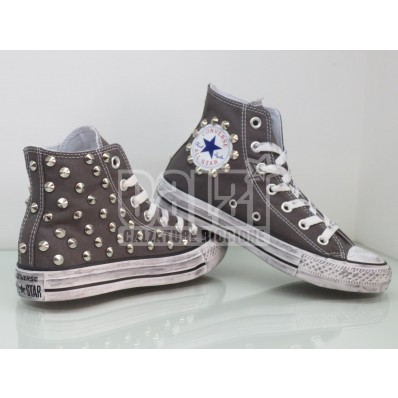 converse all star alte grigie donna