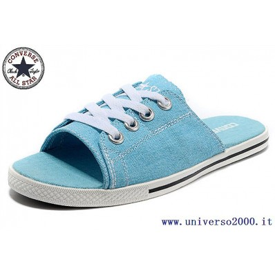 converse all star donna basse blu