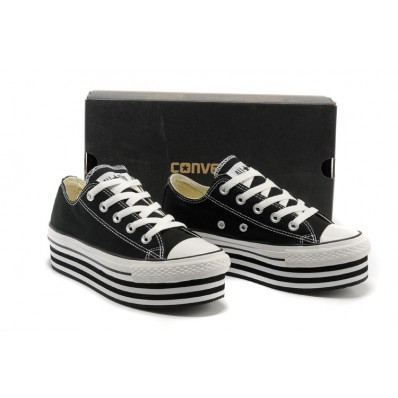 converse all star donna basse nere