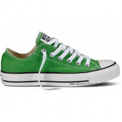 converse all star donna basse verde