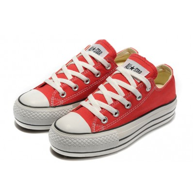 converse all star donna rosse
