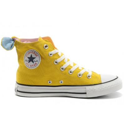 converse all star gialle