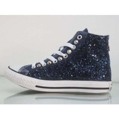 converse all star glitter bambina