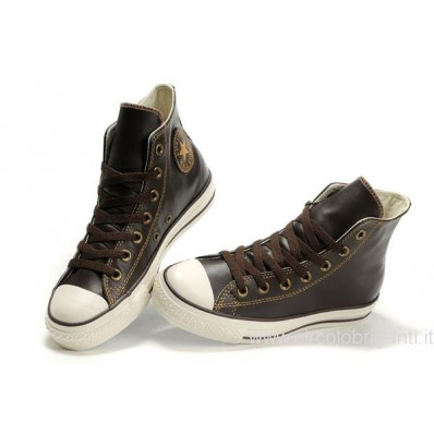 converse all star in pelle