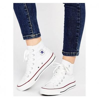 converse all star scarpe bianche