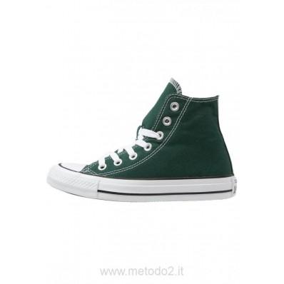 converse alte verde scuro