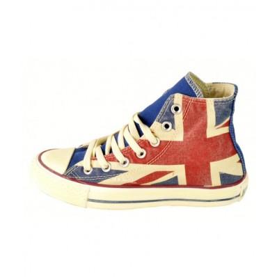 converse bambino bandiera inglese