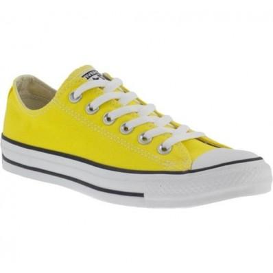 converse bassa gialla