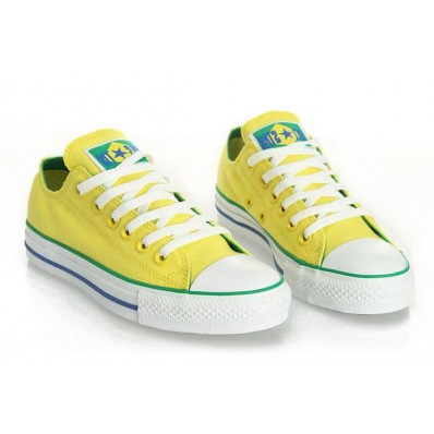 converse donna basse gialle