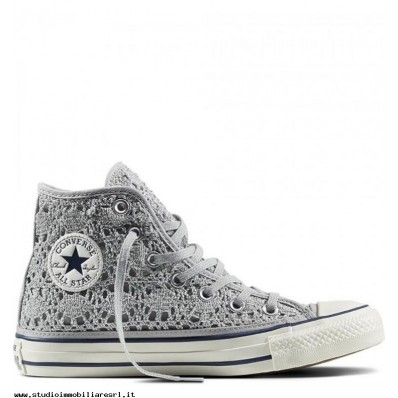 converse donna in pizzo