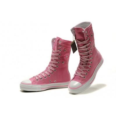 converse donna rosa alte