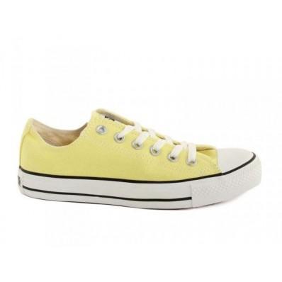 converse giallo basse
