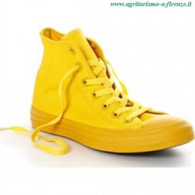 converse giallo limone