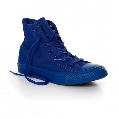 converse monochrome blu
