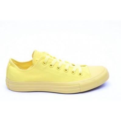 converse monocrome gialle