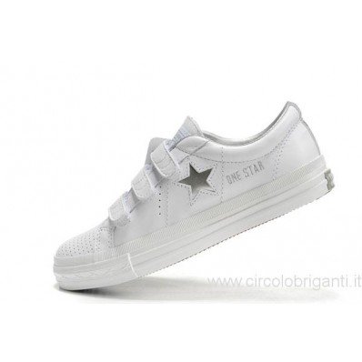 converse one star donna bianche