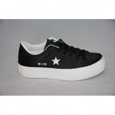 converse one star platform raso