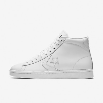 converse pro leather bianche