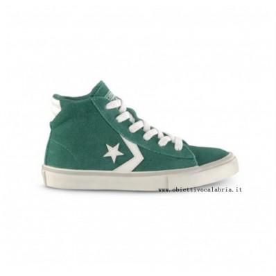 converse pro leather verde