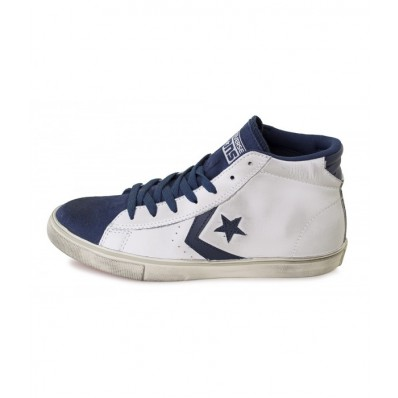converse pro leather vulc mid leather donna