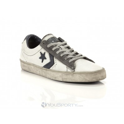 converse pro leather vulc ox navy