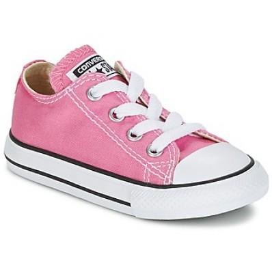 converse rosa basse bambina
