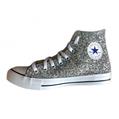 converse stella glitter donna
