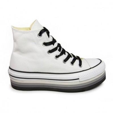 scarpe con la zeppa converse