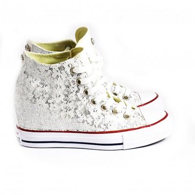 scarpe converse con rialzo