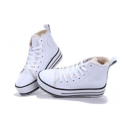scarpe converse donna platform alte