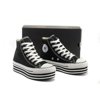 scarpe converse nere alte