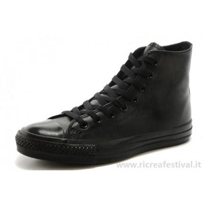 scarpe donna converse all star pelle