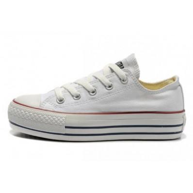 scarpe donna converse basse bianche