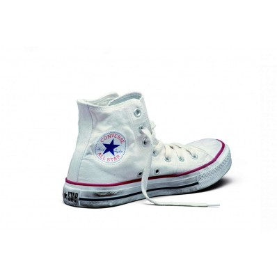 scarpe tipo converse bianche
