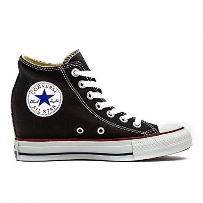 sneakers zeppa converse basse