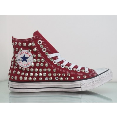 sneakers zeppa converse borchie
