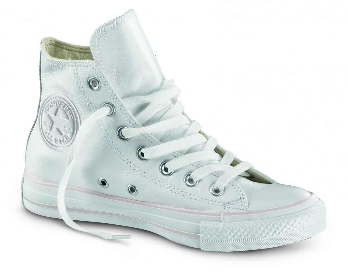 converse scarpe bianche