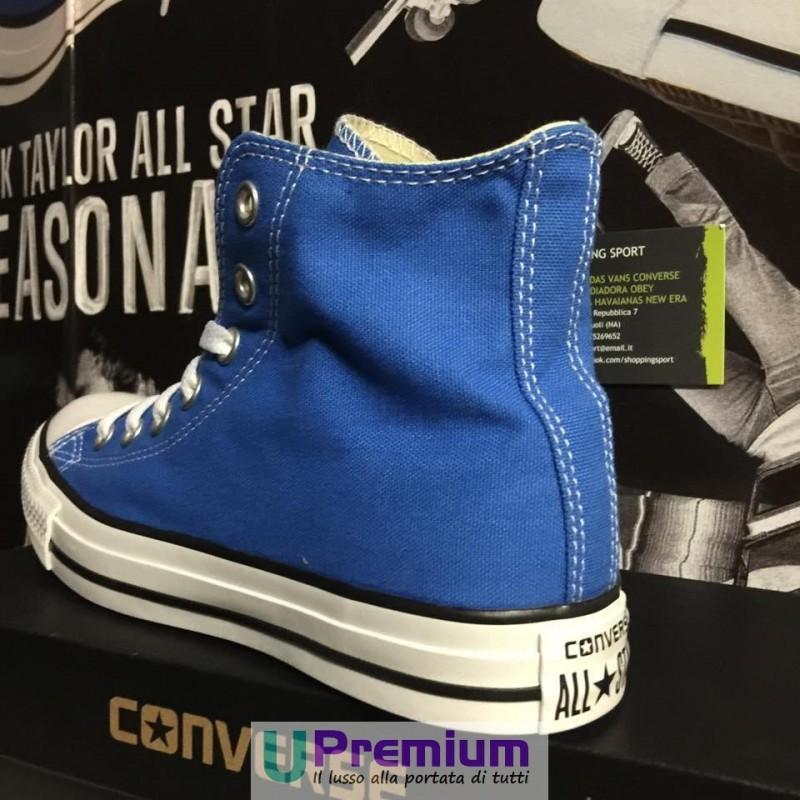 scarpe bimbo converse all star blu elettrico