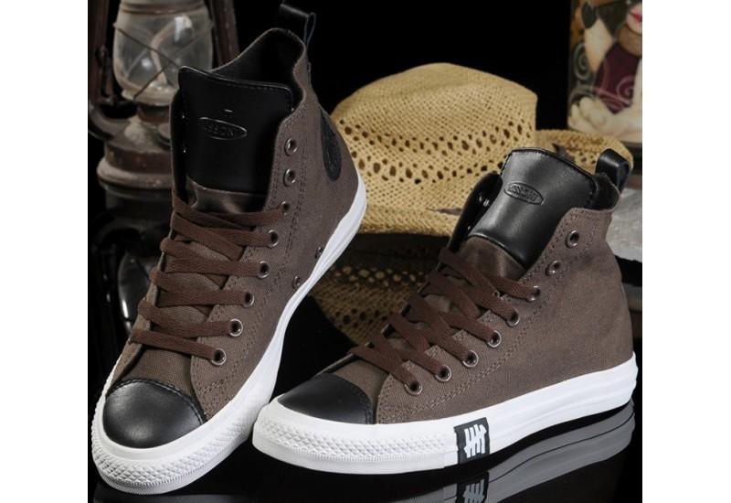 scarpe converse in pelle