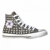 converse all star grigio scuro