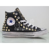 converse all star nere alte bimbo