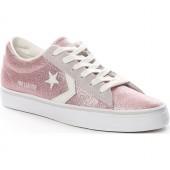 converse donna glitter rosa