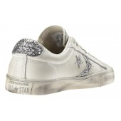 converse pro leather vulc ox distressed glitter