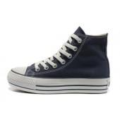 converse scarpe alte blu