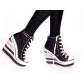 scarpe converse donna con zeppa
