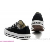 scarpe converse nere basse
